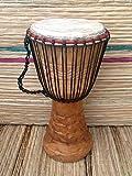 Genuine African Djembe Drum 11