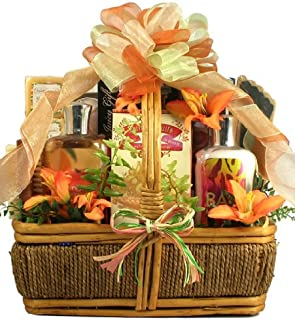 The Islander, Tropical Spa And Chocolates Gift Basket - Spoil Her in Luxury and Shower her with Gourmet Treats - She Will ...