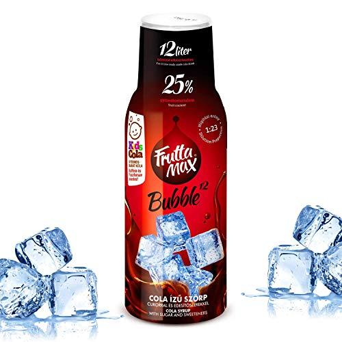 Frutta Max Getränkesirup Frucht-sirup Konzentrat | Sorten zur Wahl | weniger Zucker | 25% Fruchtanteil | für Soda Maschine geeignet 500ml (Cola- Koffein-Phosphorsäure frei)