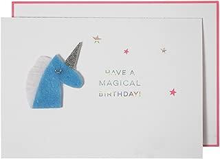 Meri Meri Magical誕生日ユニコーンカード