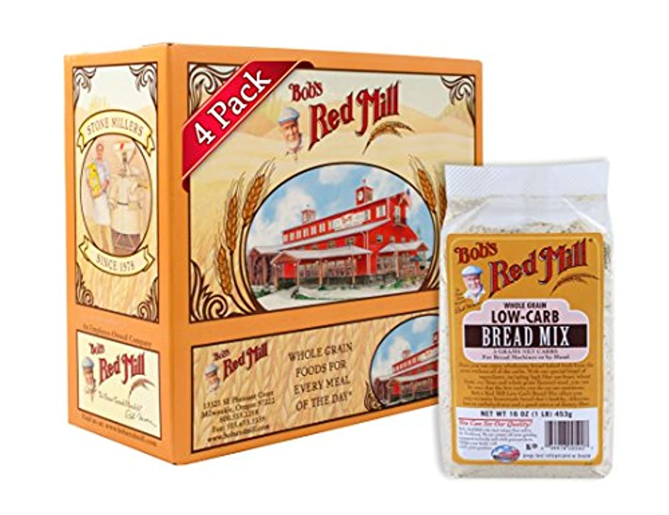 Bob's Red Mill Low-Carb Bread Mix, 16-ounce (Pack of 4)
