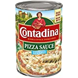 Contadina Canned Pizza Sauce with Natural Sea Salt, 15 Ounce (Pack of 12)