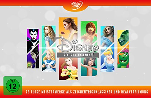 Disneys zeitlose Meisterwerke (Animation & Live Action) [Limited Edition] [12 DVDs]