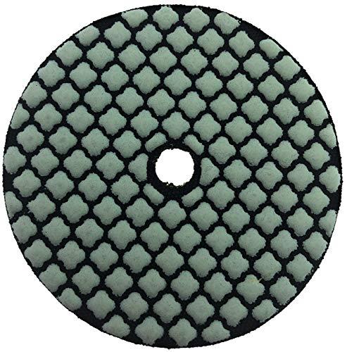 PRODIAMANT Premium diamant-slijppad droog geslepen 100 mm droogschuurpad klittenband 100 mm, Körnung 100, 1