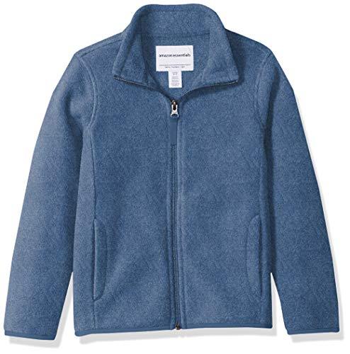 Amazon Essentials Full-Zip Polar fleece-outerwear-jackets, Blue Heather, XX-Large