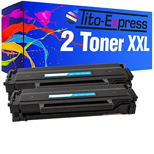 PlatinumSerie® 2x Toner compatibile con Samsung MLT-D101S 3.000 pagine SCX-3400 SCX-3400 F SCX-3400 Series SCX-3401 SCX-3405 SCX-3405 F SCX-3405 FW SCX-3405 Series SCX-3405 W SF-760 P