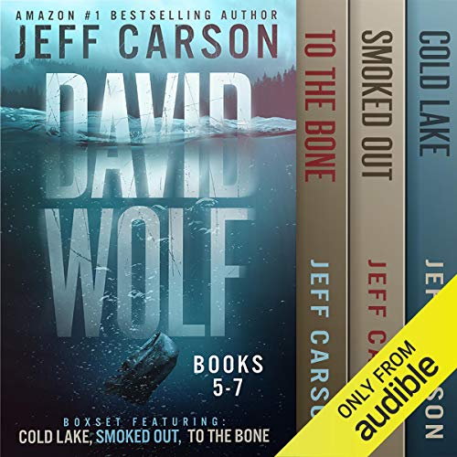 The David Wolf Mystery Thriller Series: Books 5-7 audiobook cover art