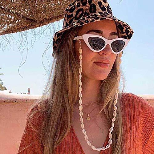 Bohend Boho Lungo Sheel Occhiali da Sole Catena Oro Bohemien Maschera Viso Catena Donna Occhiali Catena Accessori Per Occhiali Da Sole E Maschere Viso