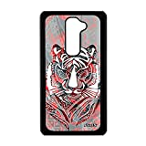 utaupia Coque de Protection Tigre G2 azteque Multicolore Plume Afrique coloré Bengal LG G2
