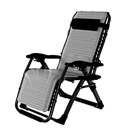 Lounge chair Sillón reclinable de Lujo, Silla Tumbona Plegable reclinable de Gravedad...