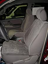 Durafit Seat Covers, T821 Gray Seat Covers Made in Gray twill for 2004-2009 Toyota 4Runner Exact Seat Covers For Front Buckets