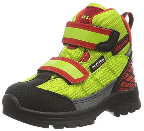 Alpina Unisex-Kinder 680359 Trekking- & Wanderstiefel, Orange Orange, 32
