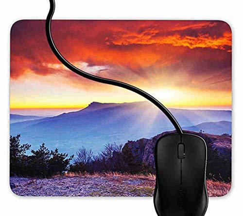 Mauspad Krim Ukraine Rutschfeste Gummi Basis Mouse pad, Gaming mauspad für Laptop, Computer 1F1881