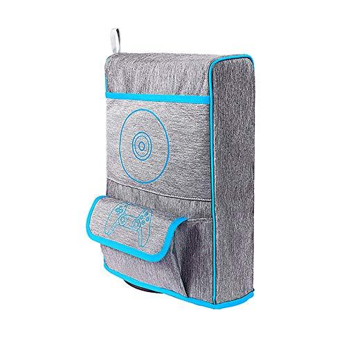 LICHIFIT Multifuncional Nylon Bolsa de Almacenamiento Bolsa de Transporte para PS5 Funda...