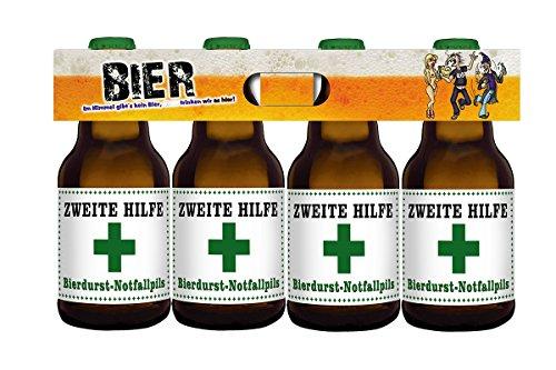 Zweite Hilfe Bierdurst Notfall 4er Träger (4 x 0.33 l)