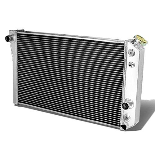 DNA Motoring RA-S10V882-3 3-Row Full Aluminum Radiator