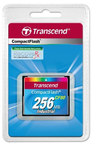 Transcend CF80 - Memoria Compact Flash de 256 MB