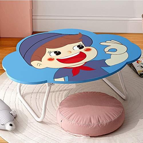 Huoqiin Inklapbare kantoorbed, klein, voor kantoor, eenvoudig op kantoor, draagbaar in de slaapkamer, kleine tafel E