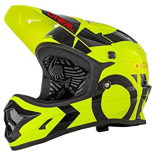 O'NEAL Backflip RL2 Slick DH Fahrrad Helm gelb/schwarz 2020 Oneal: Größe: M (57-58cm)