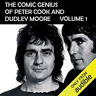 The Comic Genius of Peter Cook and Dudley Moore, Volume 1 cover art