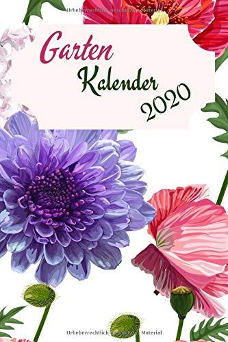 Garten Kalender 2020 Woche für Woche: Wochenkalender mit Planzzeiten für biodynamisches Gärtnern. Beetplanung