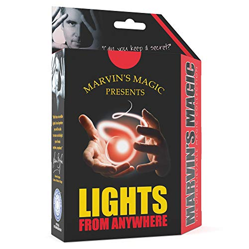 Marvin's Magic Lights from Anywhere Magic Trick Set, Magical Lights - Adult