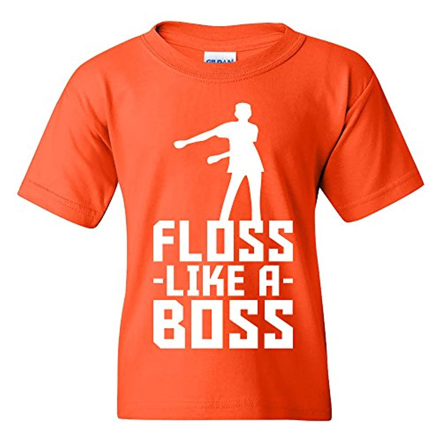 Kids Floss Like A Boss - Flossin Dance Funny Emote Youth T Shirt of30279865