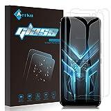 Aerku Protector de Pantalla Compatible con ASUS ROG Phone 3[2 Piezas],9H Alta Sensibilidad 2.5D[Sin Burbujas] Cristal Templado Protector de Pantalla para ASUS ROG Phone 3[Transparente]
