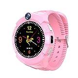 9Tong Smartwatch para Niños GPS Tracker Llamada SOS Anti-perdida Relojes Inteligentes para niños niñas Pantalla táctil Reloj Inteligente para niños para Regalos