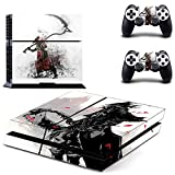 FENGLING Juego Bloodborne Ps4 Stickers Play Station 4 Skin PS 4 Sticker Decal Cover para Playstation 4 Ps4 Console y Controller Skins Vinyl