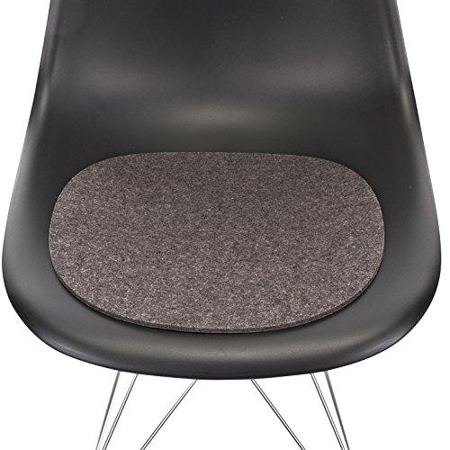 Filzauflage Eames Plastic Sidechair Antirutsch anthrazit 5011235_01AR