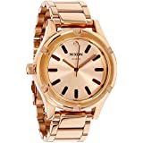 Nixon Camden Quartz Movement Champagne Dial Ladies Watch A343897-00