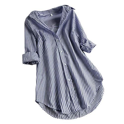 Langarmshirt Oberteile Damen Shirt...