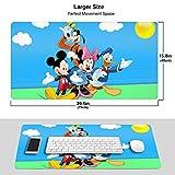 Alfombrilla de ratón Grande para Juegos Donald Duck y Goofy Ideal para Ambos Juegos MPD-745