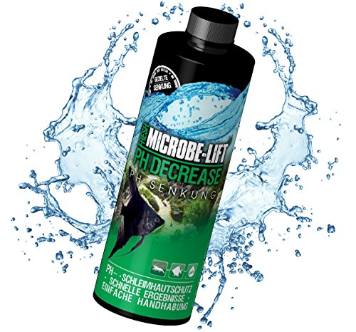 Microbe-Lift pH-decrease – pH-verlaging, eenvoudig en veilig in zoetwater aquarium, 473 ml