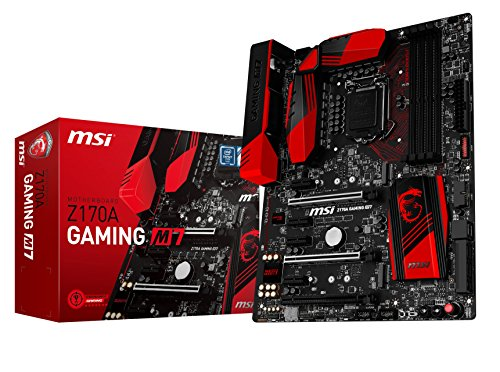 MSI Z170A Gaming M7 - Placa Base (Socket LGA 1151, 4 x DDR4 3600(OC) hasta 64 GB)