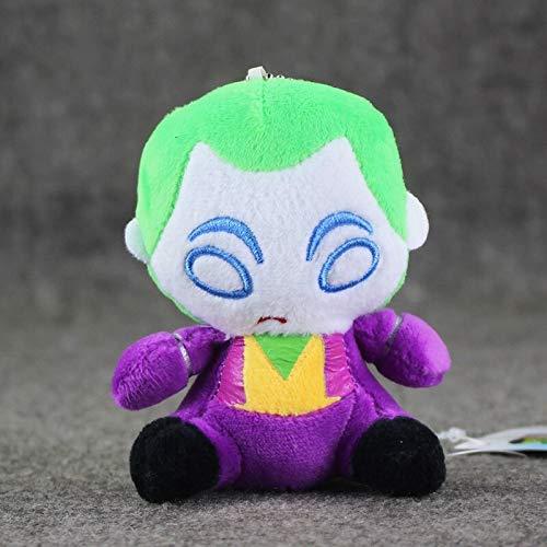 panggedeshoop Kuscheltier Anime Flash Batman Harley Quinn Die Joker Plüschtiere Weiche Kuschelpuppen
