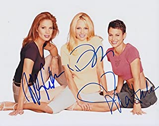 V.I.P. (Pamela Anderson, Molly Culver, & Natalie Raitano) signed 8x10 photo