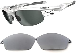 Galaxy Lenses for Oakley Fast Jacket Not For Fast Jacket XL Titanium Polarized,