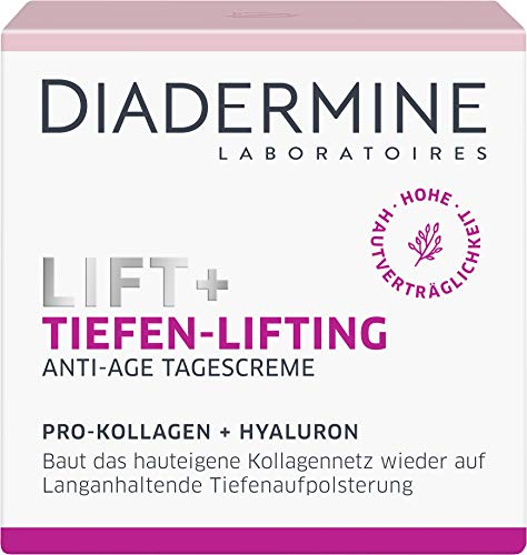 DIADERMINE Lift+ Tiefen-Lifting Tagespflege Tagescreme, Straffende Anti-Age Pflege, 1er Pack (1 x...