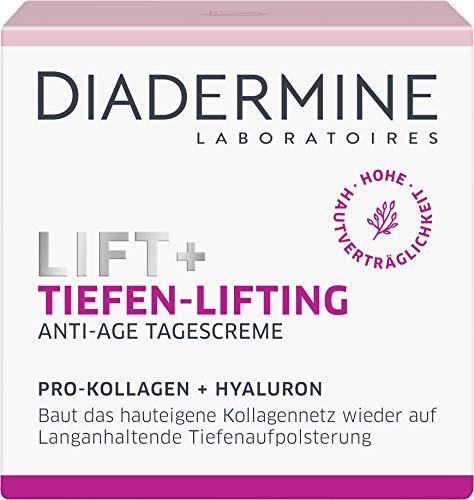 Diadermine Lift+ Tagespflege Tiefen-Lifting Tagescreme, Straffende Anti-Age Pflege, 50 Milliliter