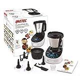 Imetec Cukò Pro XL CM3 2000 Robot de cuisine multifonction avec cuisson, Cooking Machine avec 20 programmes automatiques, 10 fonctions, 6 portions, 5 accessoires, recette, capacité 3,6 litres, 1000 W