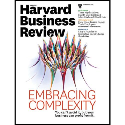 Harvard Business Review, September 2011 copertina
