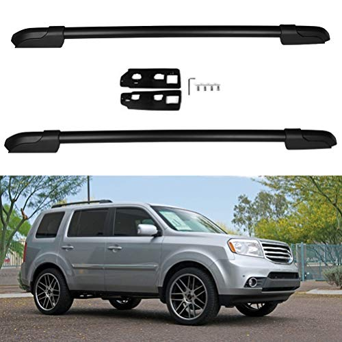 ECCPP Roof Rack Side Rails Compatible with Honda Pilot 2009-2015 Cargo Racks Rooftop Luggage Canoe...