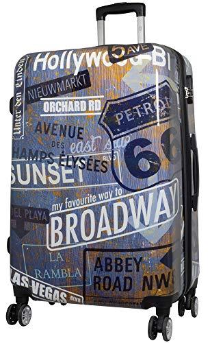 XXL VINTAGE LEINWAND BILD 100x100x5 RETRO BROADWAY NEW YORK USA WANDBILD IKEA