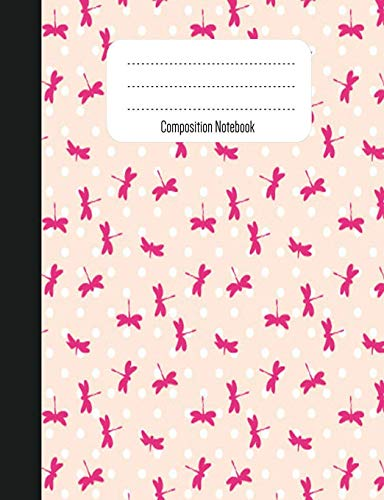 Composition Notebook: bts notebook college ruled, butterfly notebook (7.44x9.69) notebook with 200 pages for taking notes, notebook for School, beautiful butterfly pattern notebook back to school gift