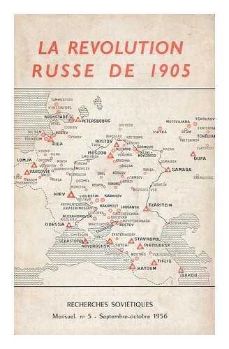 La revolution russe de 1905