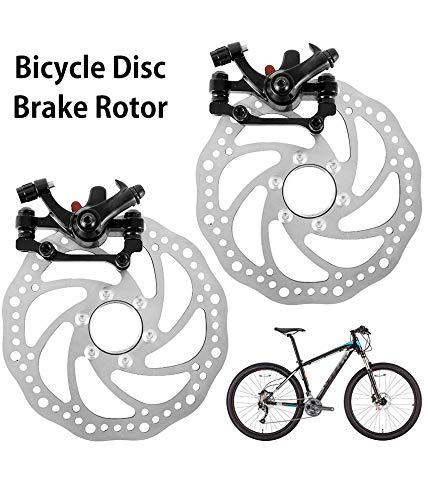 xinchengraoji Bremsscheibe Fahrrad 2 Stück Bremssattel Vorne und Hinten G3 Scheibenbremsen Fahrradteile Set für die meisten Fahrrad Rennrad Mountainbike