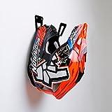 Soporte para casco de motocicleta -...