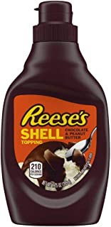Reese's Peanut Butter Shell Topping, 7.25-Ounce Bottle